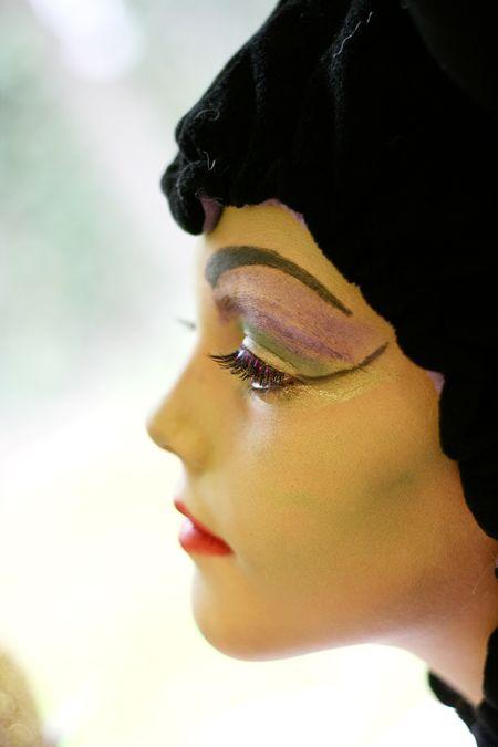 Maleficent makeup 2