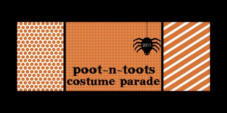 Costume parade banner